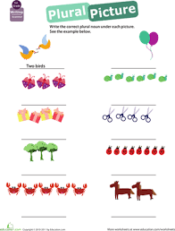 get into grammar plural nouns worksheet education com