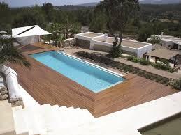 piscine sur pilotis terrasses piscines linéa design decolinéa design deco