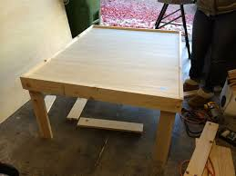 fold up train table do it yourself wooden train table in less than 24 hours fox and
