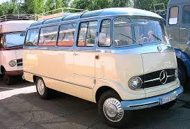 mercedes vintage curbside mercedes 207d t1 and other vintage mbz vans