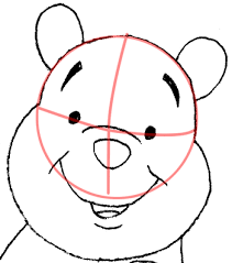 draw winnie pooh easy step step drawing