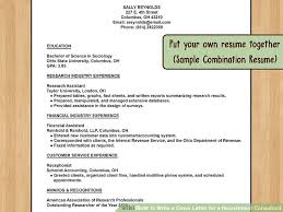 Letter For Sending Resume For Job by How To Write A Cover Letter For A Recruitment Consultant With