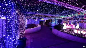 canberra christmas lights set world record bbc news