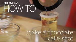 chocolate cake shot recipe