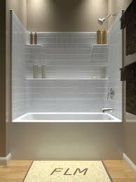 designs outstanding small corner bathtub shower combination 140