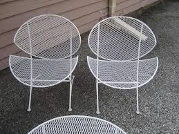 White Patio Chair Wire Patio Chairs Home Design Ideas And Pictures