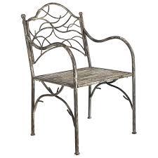 Metal Armchair Tendril Metal Garden Armchair Oka