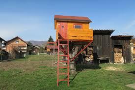how to diy kids treehouse at home homescorner com
