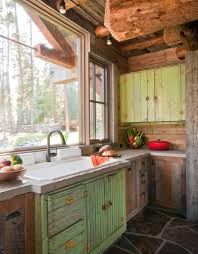 rustic cabin kitchen ideas log home kitchen colors most popular home design