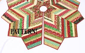 quilted christmas tree skirt pattern country strings tree