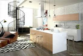 cuisine ouverte sur salon decoration salon avec cuisine ouverte collection et ouvert