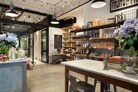 kitchen store design old nyc carriage house renovated into a trendy café