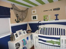 interior design view nautical themed nursery decor on a budget