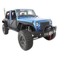2011 jeep wrangler fender flares smittybilt 76838 xrc flux tubular textured black front fender