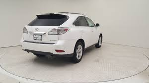 lexus rx spare tire pre owned 2011 lexus rx 350 awd 4dr sport utility in baltimore