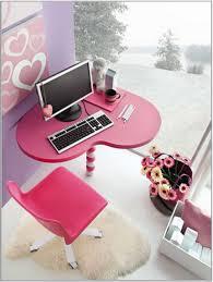 computer table kings brand pink finish corner workstation kids