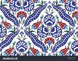 Pattern Ottoman Royalty Free Traditional Turkish Ottoman Floral 293023958 Stock