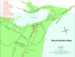 abaco resort map abaco estate services map of marsh harbour abaco bahamas