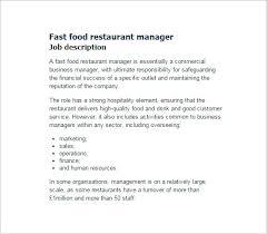 Restaurant General Manager Job Description Resume by Restaurant Manager Job Description Restaurant Assistant Manager