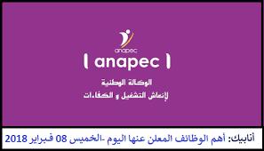 bureau de recrutement maroc royaume du maroc l agence nationale de promotion de l emploi et des