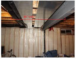 suspended ceiling over dropped ductwork carpentry contractor talk