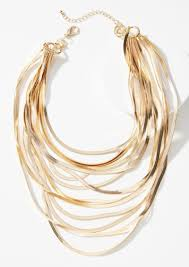 layered necklace chain images Anthropologie snake chain layered necklace jewelry shop it to me jpg
