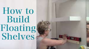 Building Floating Shelves by How To Build Floating Shelves Youtube