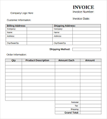 Sle Invoice Template Excel Design Invoice Template Free 19 Images 6 Reference Letter