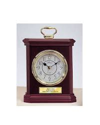 personalized engraved desk clocks retirement service award wedding ann