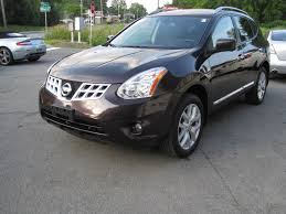 Nissan Rogue White - 2013 nissan rogue sv w sl package loaded leather xenons sunroof