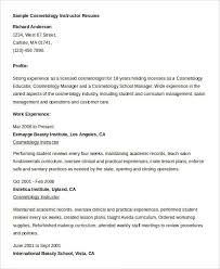 cosmetology resume samples resume examplecosmetologist resume