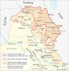 Iraq Map World by Atlas Of Iraqi Kurdistan Wikimedia Commons