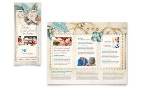 ms word brochure template ms word tri fold brochure template hospice home care tri fold