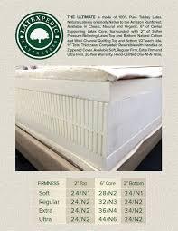 organic latex mattress organic latex mattress topper organic
