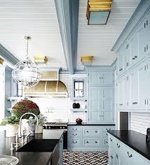 blue kitchen cabinets with black granite pin by jackson on kitchen kitchen design blue