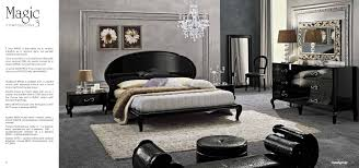 Italian Contemporary Bedroom Sets - gorgeous italian modern bedroom set furniture design with black
