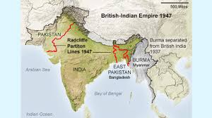 British India Map by Partition Stories Indiegogo