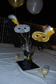 masquerade party ideas non floral centerpieces masquerades centerpieces and masquerade