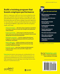 training and development for dummies elaine biech 9781119076339