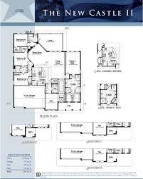 Floor Plan Castle by New Castle Ii Victoria Trails Deland Florida D R Horton