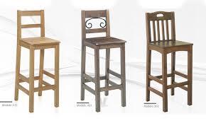taburetes de pino silla para restaurante alta en distintos colores 02 muebles y