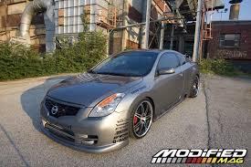 2008 Nissan Altima Coupe Interior 2008 Nissan Altima Coupe Modified Magazine