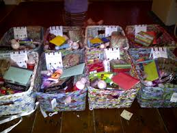 homemade christmas gift baskets for families christmas craft