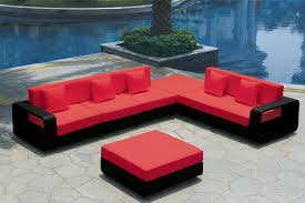 Black And Red Sofa Set Designs Contemporary Outdoor Furniture As A Companion To Nature Amaza Design