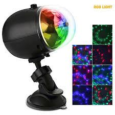portable laser stage lights rgb three dimensional circular wheel
