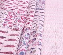 55 best kantha quilts throws u0026 rugs images on pinterest kantha