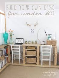 Free Plans To Build A Corner Desk by Best 20 Build A Desk Ideas On Pinterest Cheap Office Desks