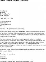 cover letter great 10 correct cover letter for research assistant