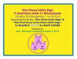 pigs true story 3 pigs tpt