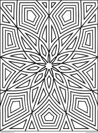 printable coloring pages for adults geometric free printable geometric coloring pages adults geekbits org